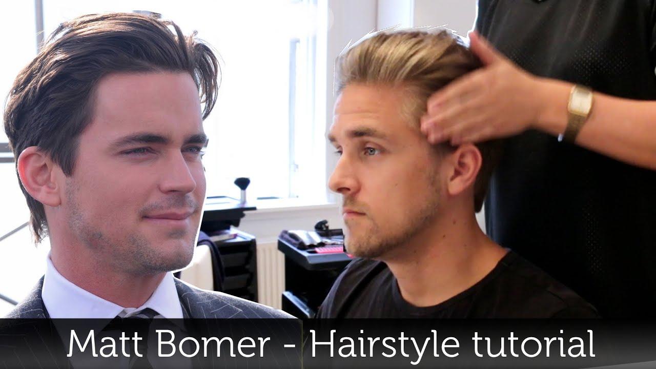Matt Bomer Hairstyle Awesome Men's Hair Tutorial Slikhaar TV