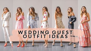 WEDDING GUEST OUTFIT IDEAS | Victoria Hui
