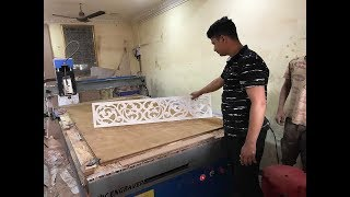 MDF, ACP, ACRYLIC Jali Cutting price Details. | CNC Cutting Machine Price in India