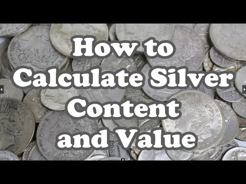 How To Calculate Silver Content And Value - US Junk Silver : Eye-On-Stuff