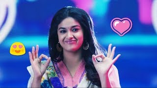 Gambar cover 💝😍 Keerthi Suresh Cute WhatsApp Status Video 2019 😍💝