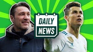 TRANSFER NEWS + Champions League Semi Final Draw, New Bayern Coach ► Onefootball