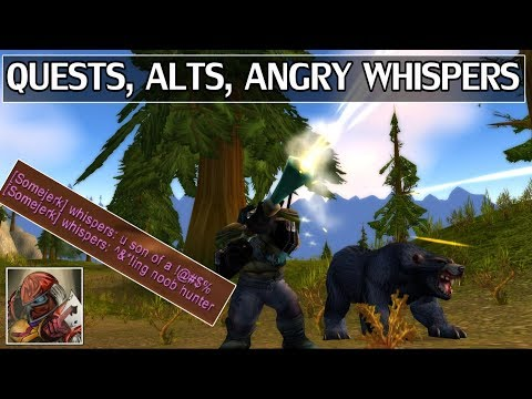WoW Memories: Quests, Alts, Angry Whispers