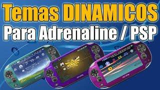 Temas DINAMICOS para Adrenaline PSP en tu PSVITA!! GENIALES