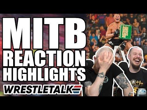 Money In The Bank Reactions HIGHLIGHTS!   WrestleTalk