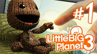 Little Big Planet 3 - Parte 1: Sackboy, Oddsock e o Primeiro Titã [ Playstation 4 - Dublado PT-BR ]