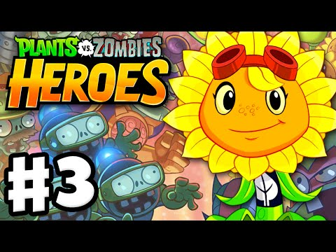 Plants vs. Zombies: Heroes - Gameplay Walkthrough Part 3 - S