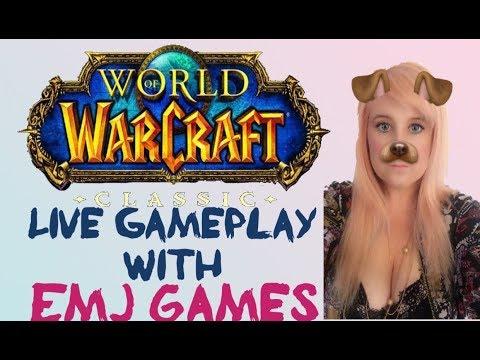 ❤️ World Of Warcraft Classic – Alliance Paladin PvP Server #EmJStream #RazerStreamer