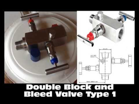 Double Block and Bleed Valve -Isolation Valve for Instrumentation