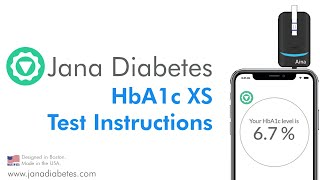 Jana Diabetes HbA1c XS Instruction Video