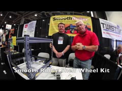 Smooth Roller Shelving Moving System with Ken Day of the Weekend Handyman