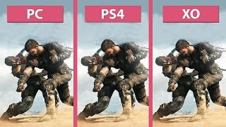 Mad Max – PC vs. PS4 vs. Xbox One Graphics Comparison [FullHD][60fps]