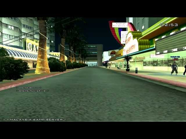 GTA SA-MP KL GANGSTER (with audio) Travel Video