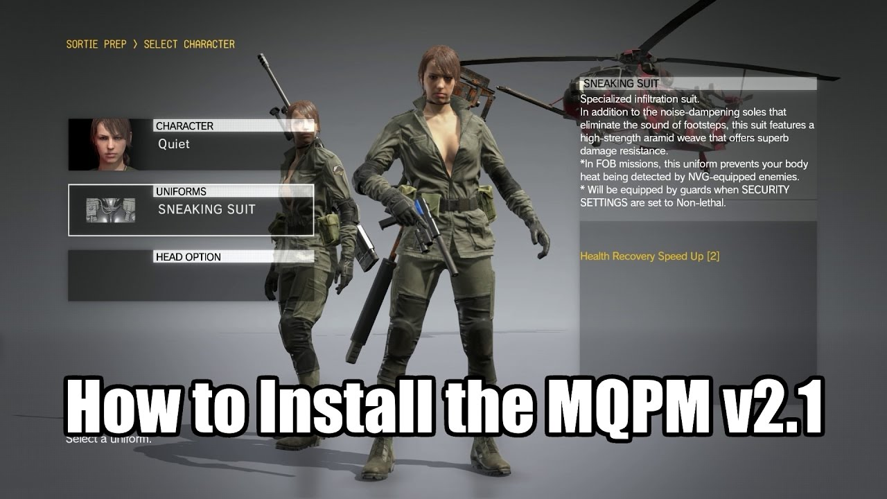 Multi Quiet Player Mod v2 3 - Quiet ability and voice support at