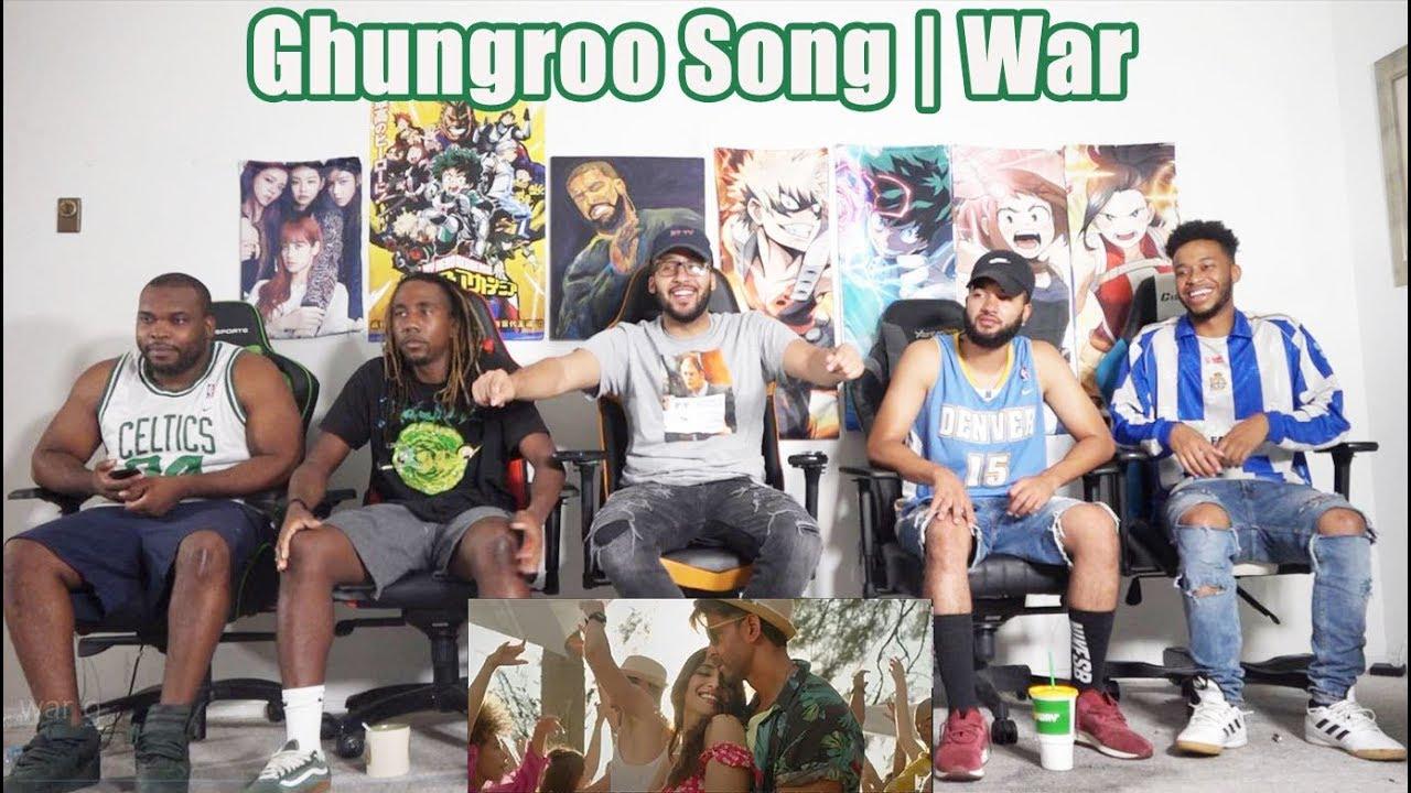 AMERICAN GIRLS react to GHUNGROO Song WAR Movie | Hrithik Roshan | Vaani Kapoor | Vishal & Shekhar
