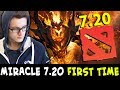 Miracle 7.20 FIRST GAME — Shadow Fiend CURES 7.19 CANCER Zeus