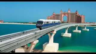 DUBAI MONORAIL Ride | DRIVERLESS Train!! | The Best View of PA…