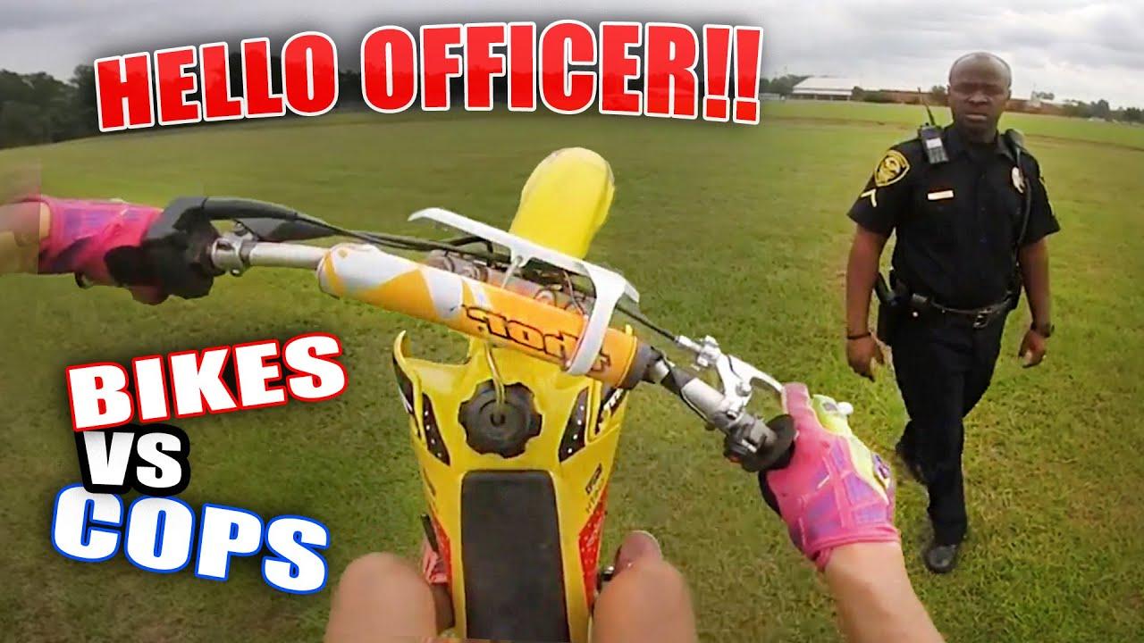 Police VS Motorcycles! Cops Stops Dirt Bikers - Best Compilation 2021