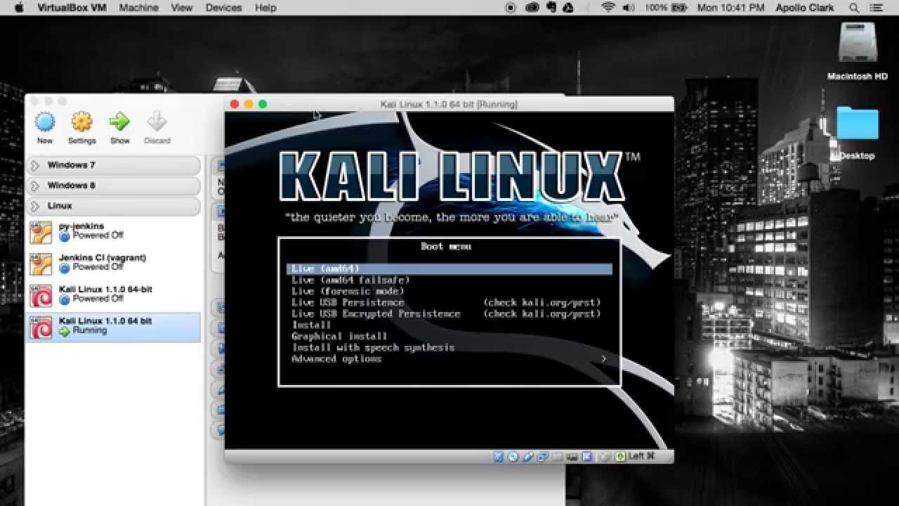install mac os x on ubuntu virtualbox