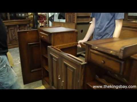 Vintage Canopy Home Pub Bar Furniture Antique Replica