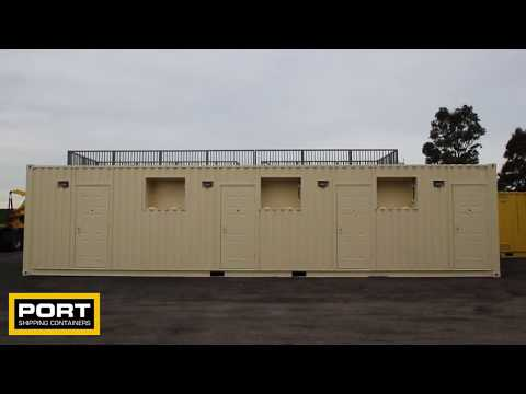 3 Berth Accommodation Container