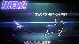 Призрак - AMV [Sword Art Online opening] аниме клип