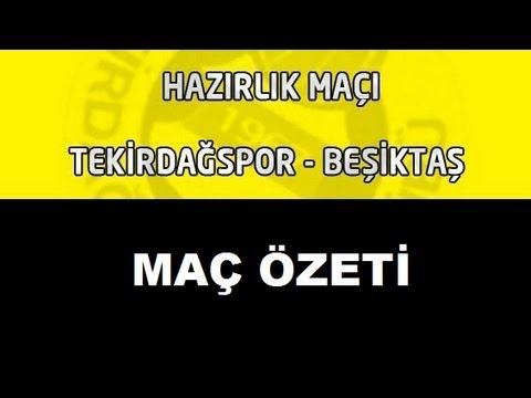Beşiktaş 4 - 1 Tekirdağspor | 8 Eylül 2013
