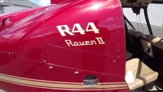 Robinson R44 Raven Pre Flight