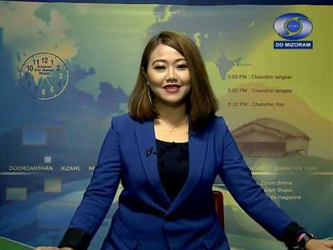 DD News Aizawl   5th June 2020   5:00 PM