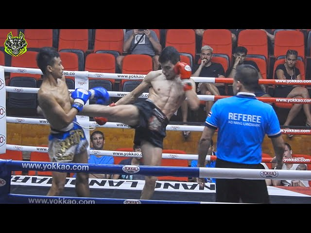Ahmad vs Yuthapong | Emerald Muay Thai and MMA gym