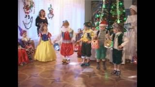 детский сад - белоснежка и семь гномов - танец