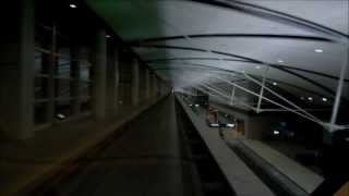 (HD) Detroit Airport Express Tram (DTW)
