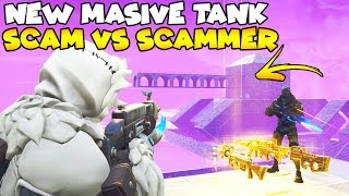 NEW Massive Tank SCAM vs Dumbest Scammer! 😱 (Scammer Gets Scammed) Fortnite Save The World