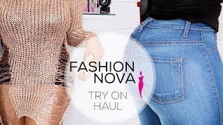FASHION NOVA TRY ON HAUL 2017 UK | VINTYNELLIE