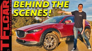 We Took The New 2020 Mazda CX-30 Off-Road - Behind the Scenes First Dirt!