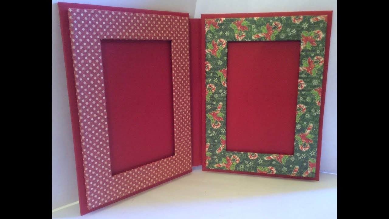 Double Picture Frame Kit - Graphic 45 - YouTube