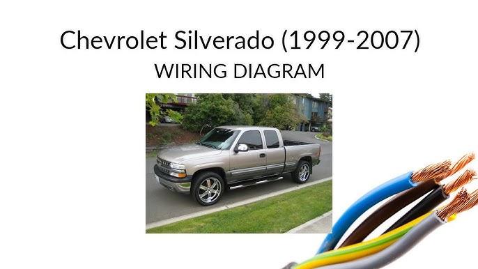 Chevrolet Silverado 1999-2007 - WIRING diagram - YouTube | Chevy 1500 4x4 1999 Wiring Diagram |  | YouTube