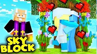 ŚLUB SMERFA ZE SMERFETKĄ    Minecraft Skyblock S3 #4