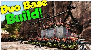 Duo Base Build and TEK Taming! - Duo Official Small Tribe PvP | Ark Survival Evolved | Ep7