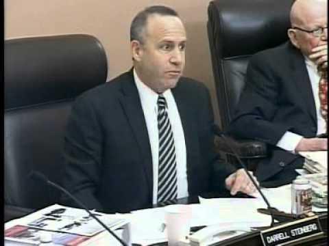 Senate Rules Committee (2 of 2) 1/18/2012
