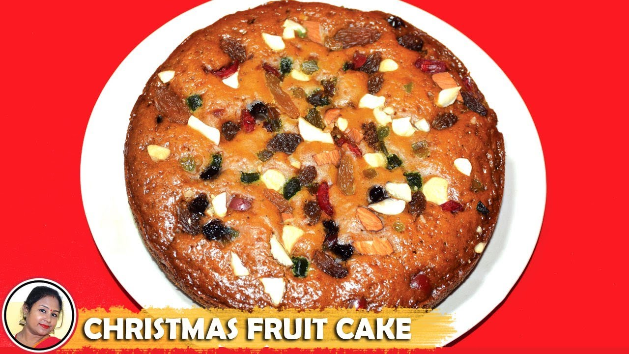 Rich Plum Cake Recipe In Pressure Cooker: Fruit Cake Recipe In Pressure