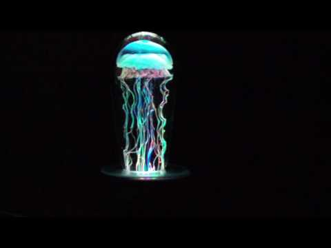 Awesome Psychedelic Glass Jellyfish