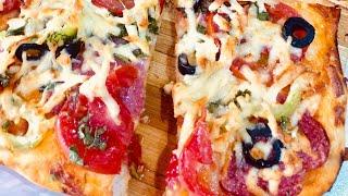 ՀԱՄԵՂ և ԱՐԱԳ #ՊԻՑՑԱ /ՀԵՇՏ #ԲԱՂԱԴՐԱՏՈՄՍ/ ВКУСНАЯ #ПИЦЦА /как готовить #пицца/TASTY PIZZA RECIPE_#MILA
