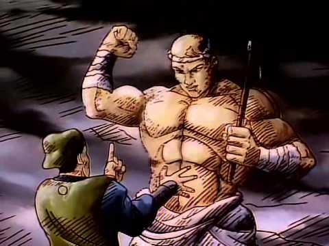 Grappler Baki The Ultimate Fighter OVA