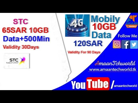 Sawa internet sim v s mobily data sim packages stc 3g for Mobilia internet