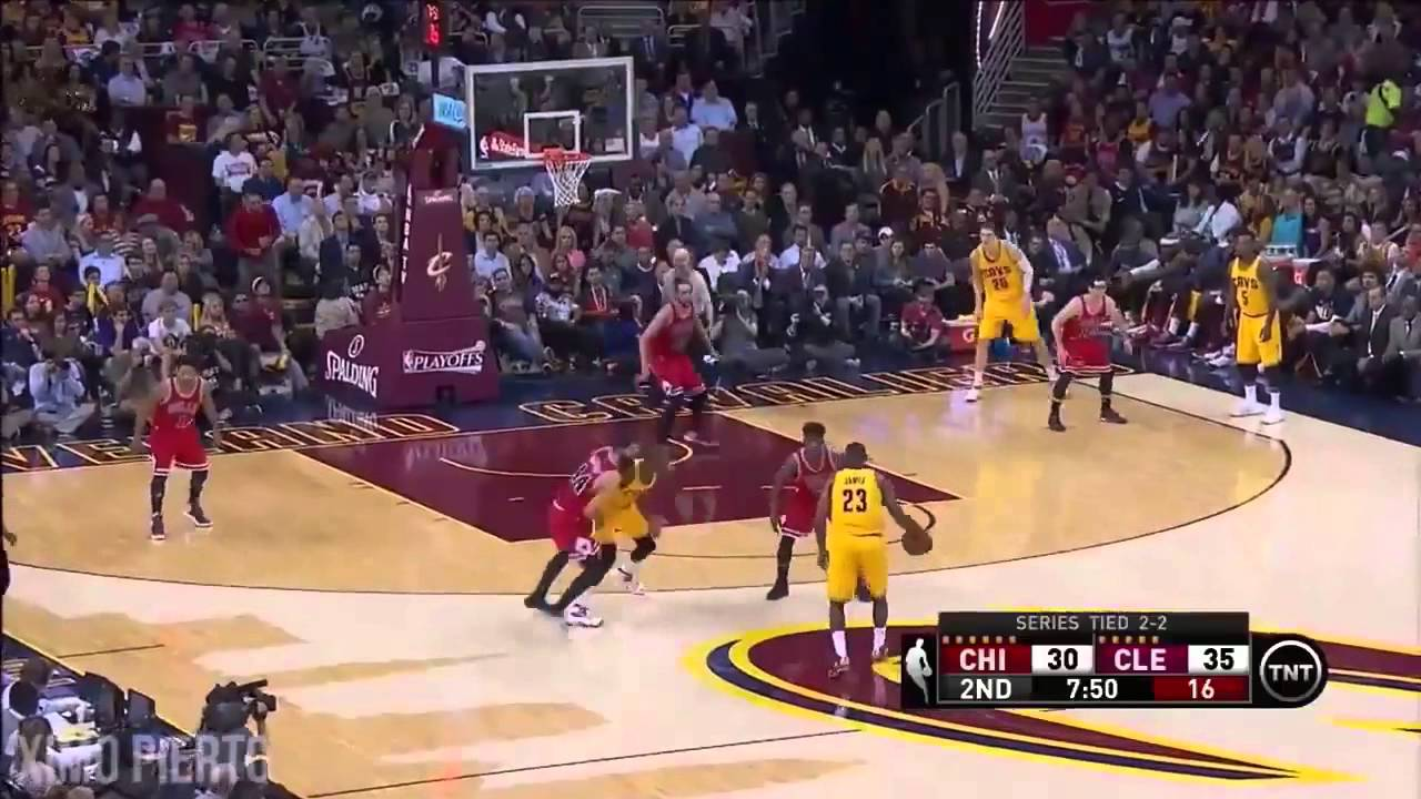 NBA季後賽公牛VS騎士G5 本場Highlights 5 13 2015九龍娛樂城www.ts999.net - YouTube