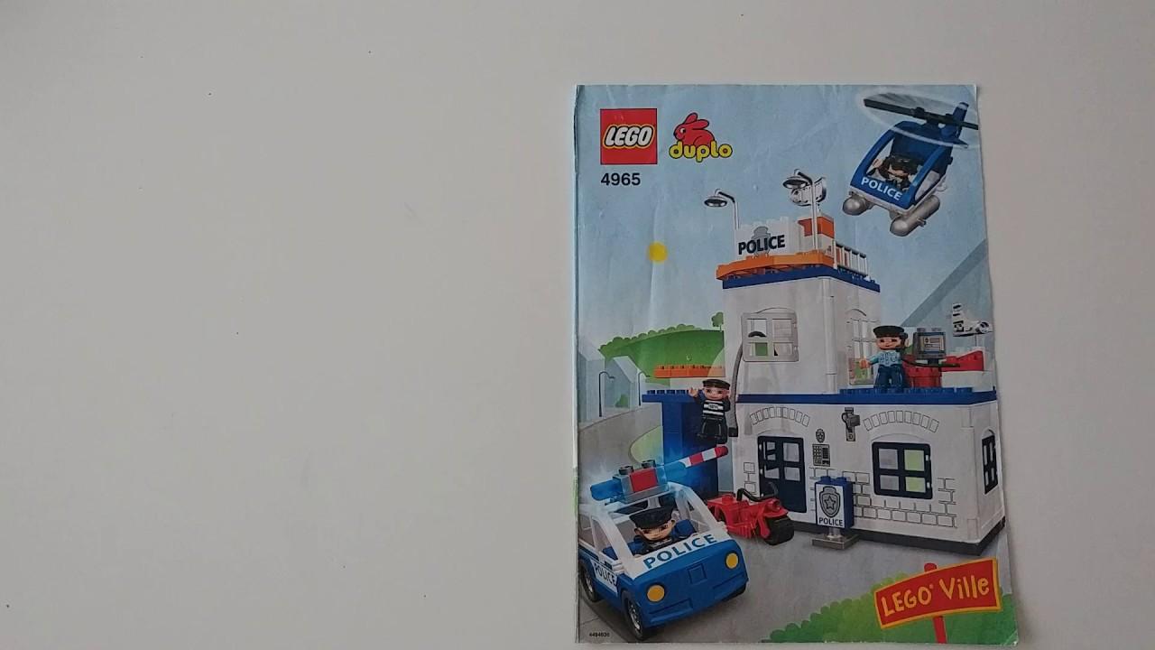 Lego Duplo. Пожарная станция (5601). - YouTube