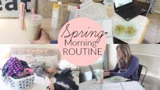 Spring Morning Routine 2017 | Stay At Home Mom