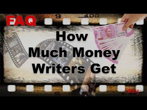 How Much Money Script Writers Get - How Much Is A Good Movie Script Worth?  | FilmiLog FAQ NO. 4