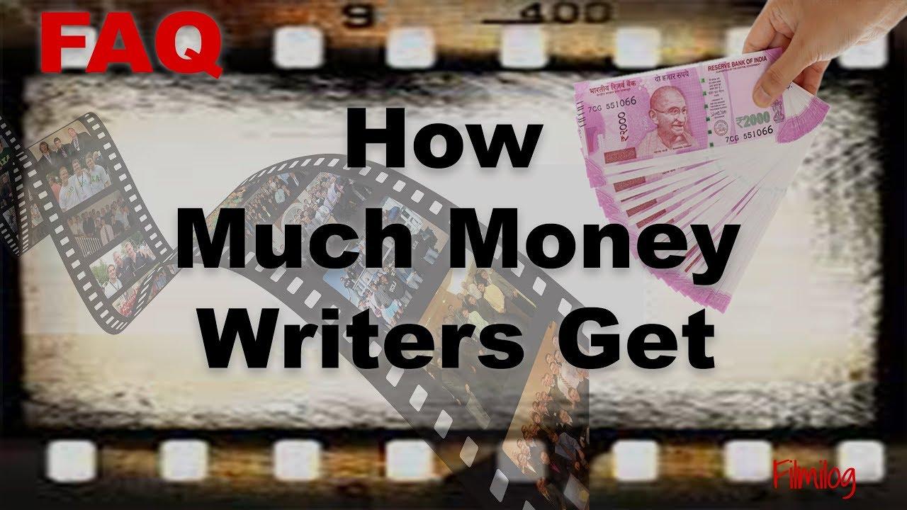How Much Money Script Writers Get - How Much Is A Good Movie Script Worth?  | FilmiLog FAQ NO  4